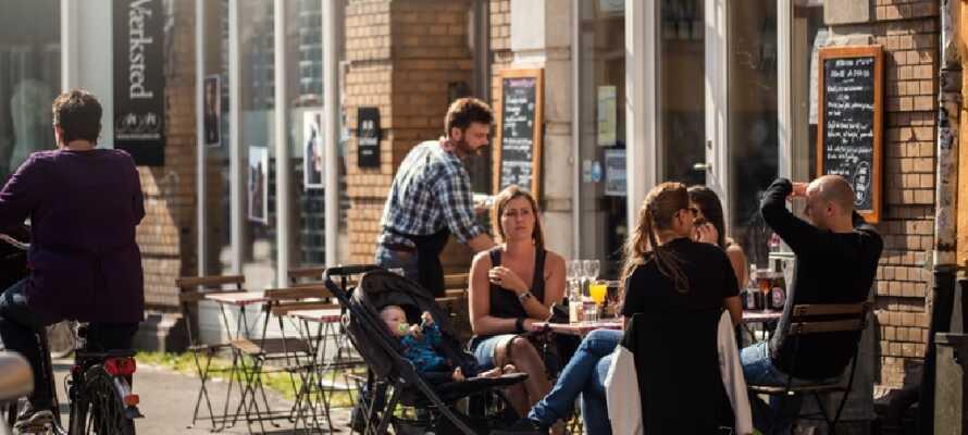 Fra Nilles Kro er der ikke langt til det søde caféliv i Aarhus, der byder på et væld af også børnevenlige muligheder