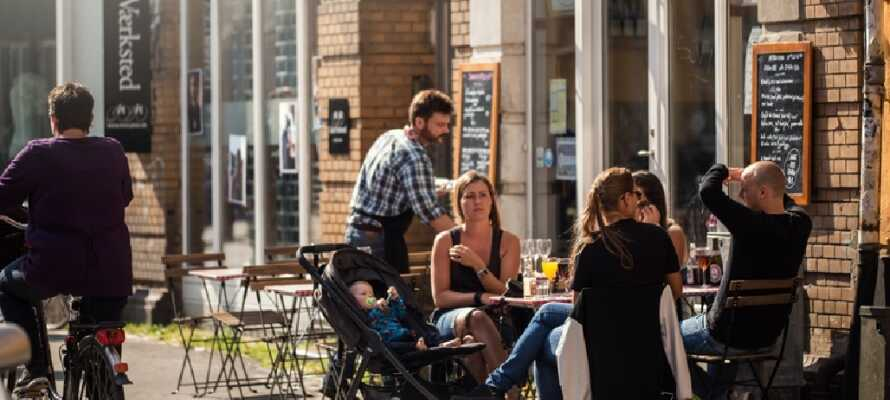 Vom Nilles Kro aus ist es nicht weit bis zum entspannten Caféleben in Aarhus, wo es auch eine große Zahl kinderfreundlicher Aktivitäten gibt.