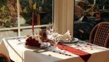 Hygge og romantik i den nydelige restaurant