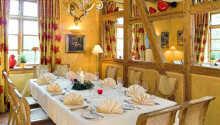 Das Restaurant eignet sich auch sehr gut für Firmen und Feiern.
