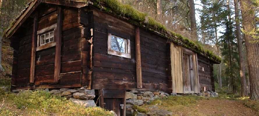 Friluftmuseet, Valdres Folkemuseum, ligger i Valdres og har bygninger helt tilbage fra 1200-tallet.