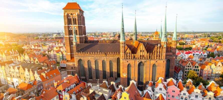 Gdansk har många överraskningar, besök innerstaden och stadens många attraktioner och sevärdheter!