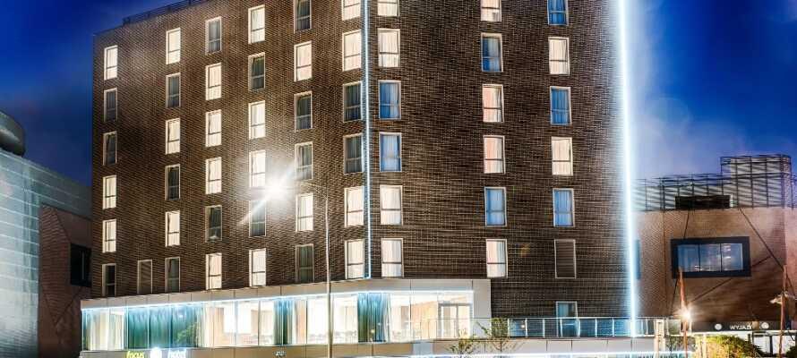 Focus Hotel Premium Gdansk är ett fyrstjärnigt hotell med moderna faciliteter och centralt läge.