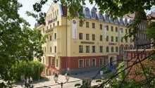 Hotellet har 119 moderne og komfortable værelser, beliggende tæt på Stettin-centrum.