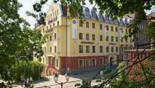 Hotellet Focus Szczecin har 119 moderna och bekväma rum, beläget när Stettins centrum.