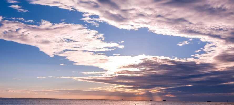 Sopot är känd för sina vackra sandstränder som sträcker sig så långt ögat når.