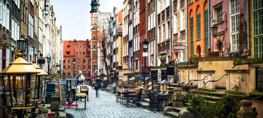 Gör en dagsutflykt till mysiga Gdansk och upplev storstadens kultur, historia och sevärdheter.