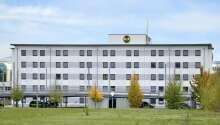 Billigt boende på B&B Hotel München Messe, nära München och golfbanor.