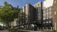 Hotellet har en rolig placering i industrikvarteret, Billbrook, i kort afstand fra Hamburg centrum