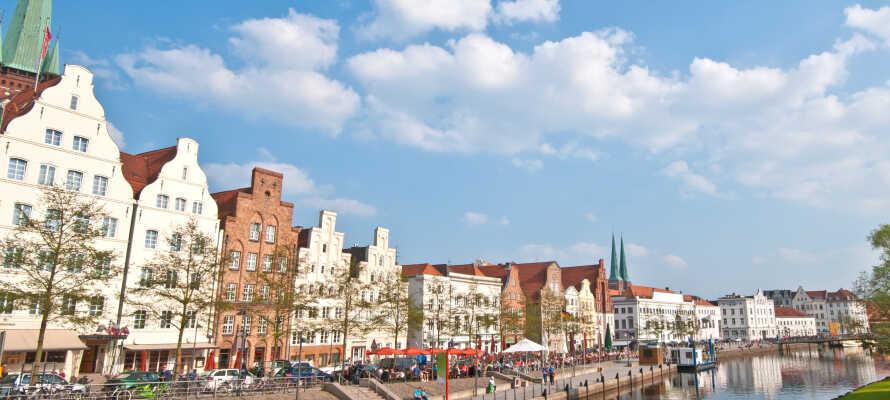 Hotellet tilbyr alltid en base for å utforske Lübecks gamleby, som har stått på UNESCOs verdensarvliste siden 1987.