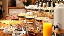 Morgenmaden har noget for enhver smag, og nydes i hyggelige rammer