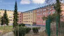 Bo nära skog och natur på moderna Hotel Himmelsscheibe.