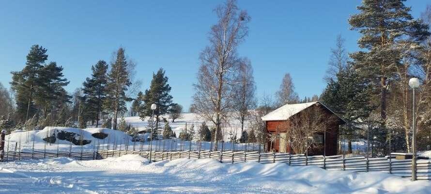 Om vinteren er der mange langrendsløjper i området, en perfekt måde at nyde den smukke natur på.