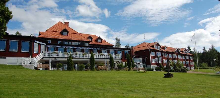 Dette 4-stjerners spahotellet er det perfekte valget for både velværeopphold og aktiv ferie i Dalarnas vakre omgivelser.