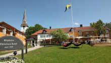 Kroen blev bygget i 1609 og er dermed Sveriges ældste kro.