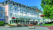 SEETEL Pommerscher Hof byder velkommen i smukke og historiske omgivelser i Heringsdorf på Usedom.