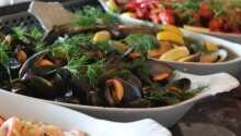 Restauranten serverer god mat, med fokus på kvalitet og norske mattradisjoner.