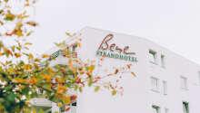 Hotellet har en suveræn beliggenhed på sydstranden på Femern