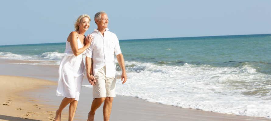 Fehmarn erbjuder perfekta omgivningar för vandrings- och cykelturer, bad, strand och vackra naturupplevelser