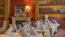 Restaurangen serverar moderna tyska rätter