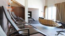 Hotellet har ett relaxområde där ni kan slappna av
