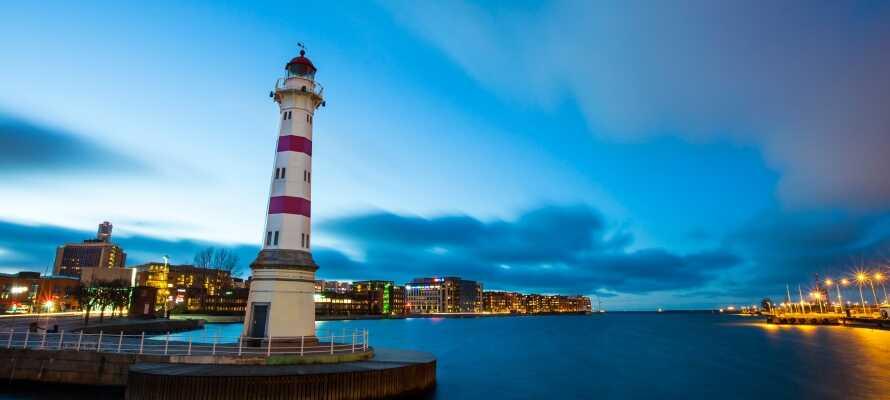 Das Hotel liegt in Malmö sehr zentral und ist ein guter Ausgangspunkt für das Erleben der Stadt