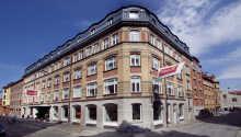 Die Hotelfassade sieht heute noch so aus, wie 1902