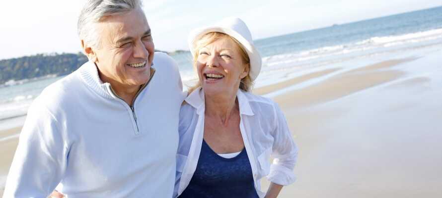 Die Lage des Hotels ist ideal für einen Strandausflug an die Ostsee - toll für einen romantischen Urlaub für 2.