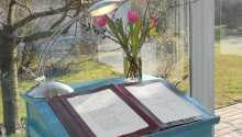 Här kan ni boka standard dubbelrum på 18 kvm eller komfortrum på 35 kvm.