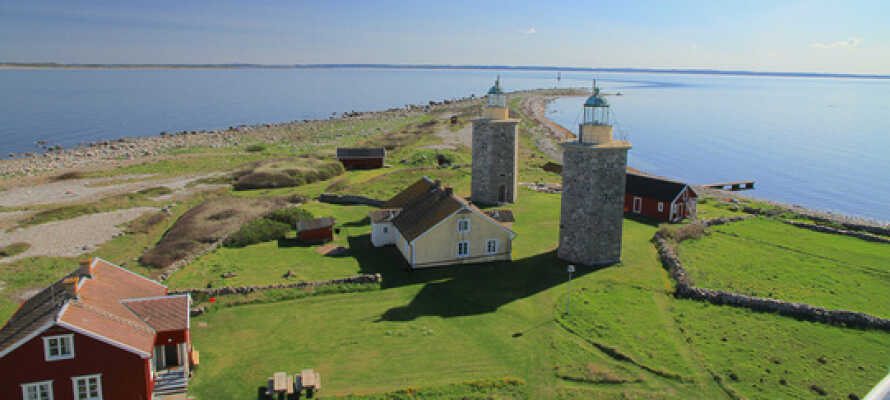 Hotellet har en nydelig beliggenhet i rolige og maritime omgivelser.