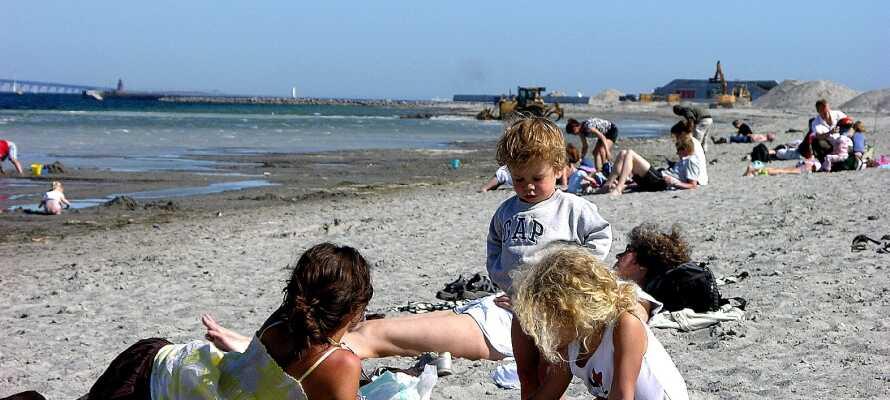 Hotellet ligger endast ett par hundra meter från Amager strandpark och dess vackra omgivningar.