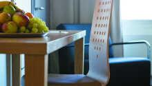Hotellets værelser tilbyder komfortable rammer for Jeres ophold