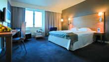 Exempel på ett av hotellets superior-rum