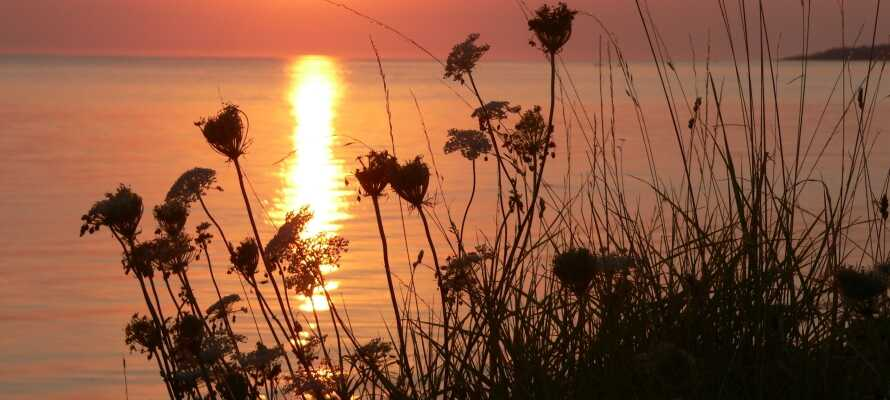 Besøg den smukke Skälderviken i Kattegat, hvor der ligger flere fiskerlandsbyer.