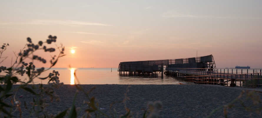 Det topmoderne CPH Studio Hotel ligger skønt og bekvemt placeret ved Amager Strandpark på det østlige Amager.