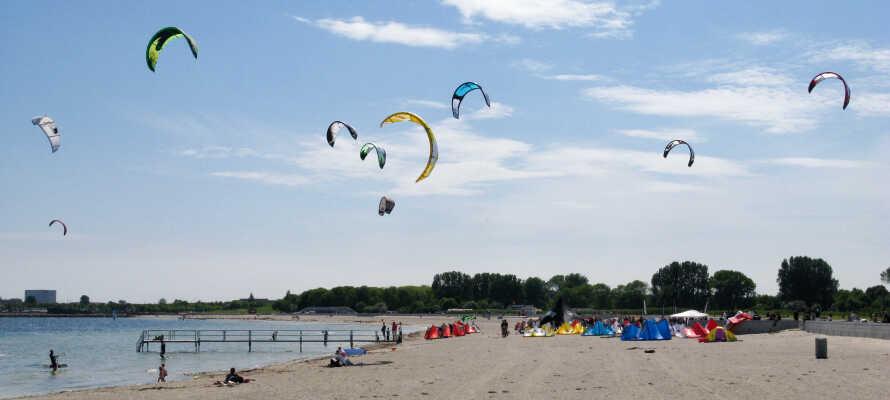 Amager Strandpark har utvecklat sig till ett mycket populärt rekreations- och strandområde nära storstaden