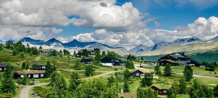Hotel Rondablikk er et typisk fjeldhotel med en smuk beliggenhed ved Rondane Nationalpark.
