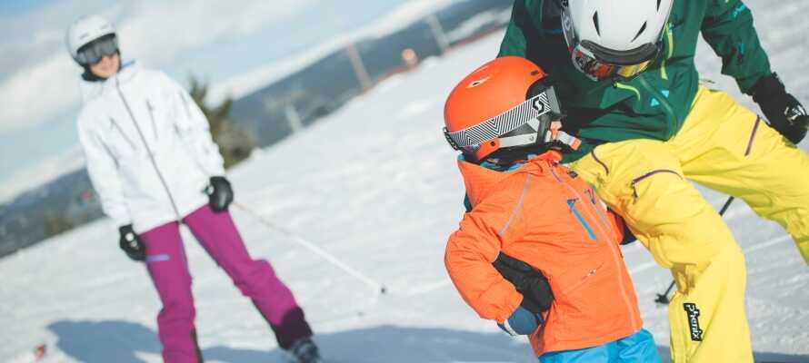Ta med barna i skibakken. Her venter fine familieopplevelser.