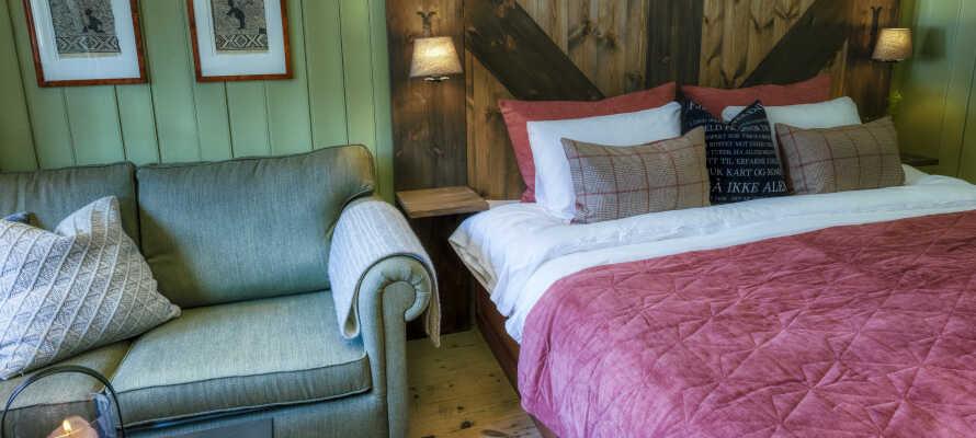 Bo på Gudbrandsgard Hotell, bare 1 time nord for Lillehammer.