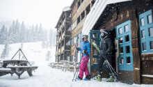 Härlig skidåkning mitt i Kvitfjell, 24 minuter norr om Lillehammer