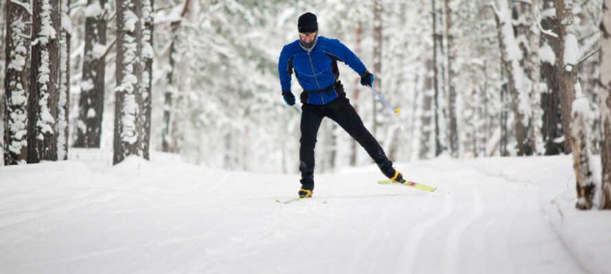 Sjusjøen verfügt über einige der besten Langlaufmöglichkeiten Norwegens und bietet alpine Pisten und Möglichkeiten für Rodel-Touren.