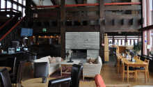 Reception, lobby og bar