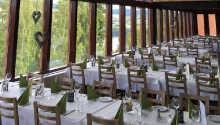 Restaurant og oppholdsrom