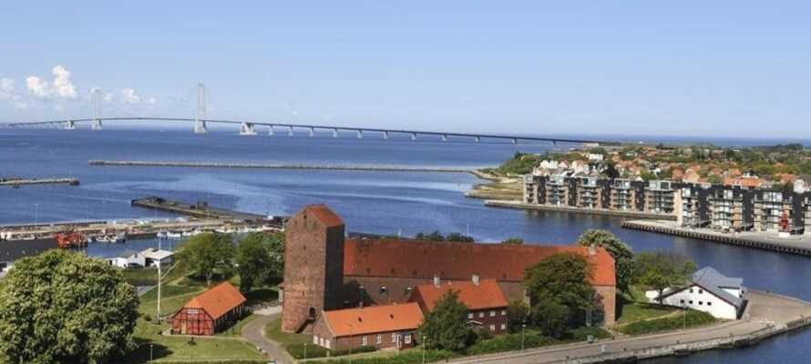 Ta er ut på utflykt och upplev något av de många vackra slotten i närområdena, såsom Gavnø Slott.