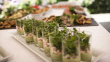 Restauranten byder på spændende og varierede retter baseret på årstidens råvarer.
