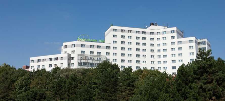 Panorama Inn Hotel ligger endast 7 hållplatser från Hamburg Hbf med U-Bahn.
