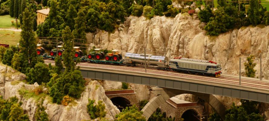 Miniatur Wunderland er verdens største modelljernbane og ligger i Hamburg.