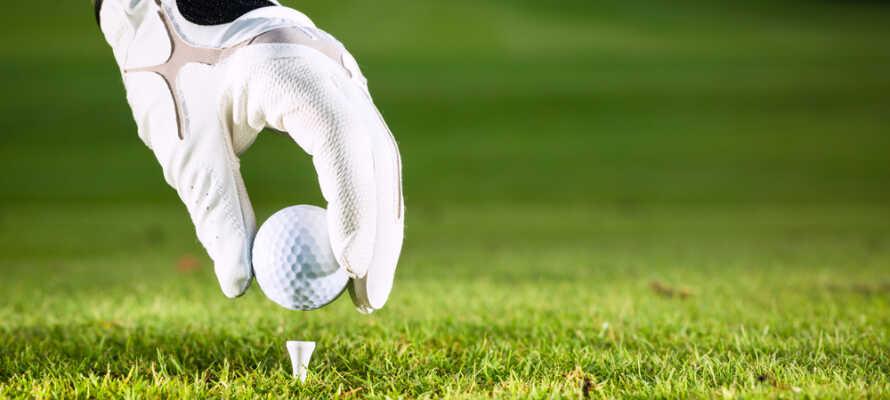 Von Munkedals Herrgård ist es nicht weit zu verschiedenen Golfplätzen.