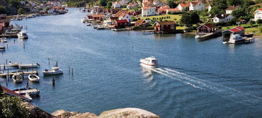 Tag på udflugt til den svenske vestkyst og oplev den fascinerende skærgård