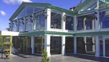 Säröhus Hotell ligger på den vestlige kyst af Halland tæt på naturskønne omgivelser.